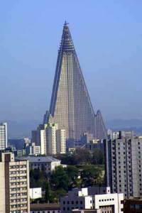Hotel Ryugyong, Korea Utara