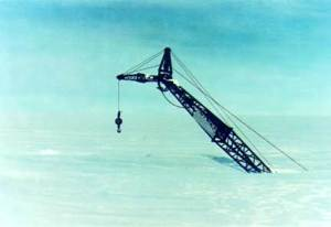 Konstruksi Crane Terkubur di Ice Sheet, Antartika