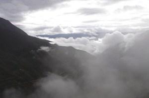 Chachapoyas, 'Negeri Awan'  di ketinggian 9500 meter dari permukaan laut