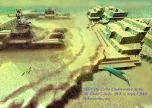 Kota kuno di bawah laut Karibia