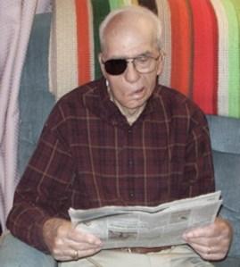 William Lawlis Pace merayakan HUT ke 100 tahun, 2009 lalu, berarti 92 tahun peluru bersarang di kepalanya