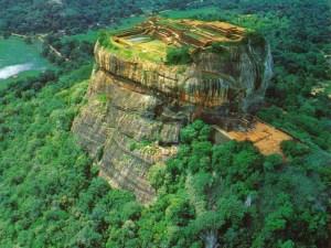 Sigiriya, satu dari tujuh peninggalan kuno di Sri Langka