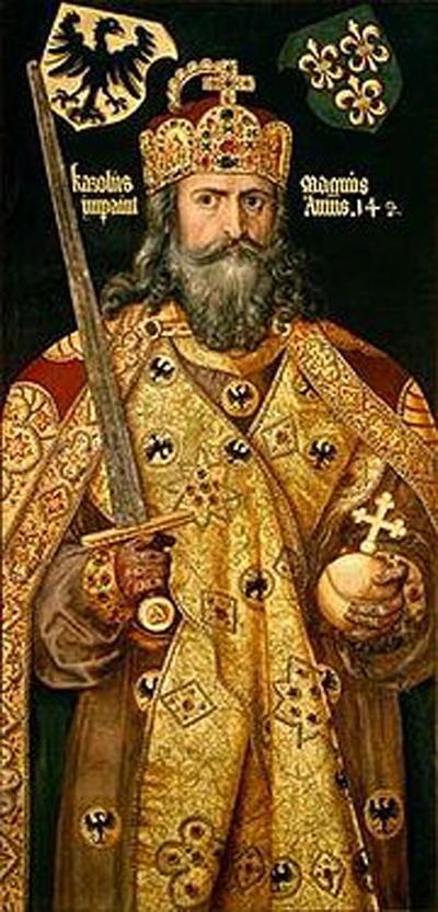 Karel yang Agung atau Karel Agung— Bapak pendiri Perancis dan  Jerman, bahkan kadang disebut Bapak pendiri Eropa