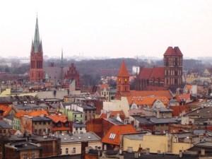 Torun kota kuno di Polandia masih eksis hingga kini. Diduga kota ini sudah ada tahun 1100 BC