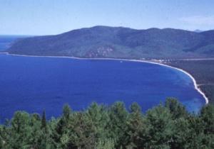 Lingkaran Misterius Lempengan Es di Danau Baikal
